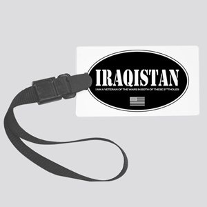 Iraqistan Luggage Tag
