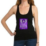 Hope Butterfly Pancreatic Cancer Racerback Tank To