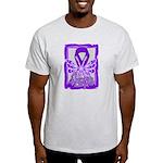 Hope Butterfly Pancreatic Cancer Light T-Shirt
