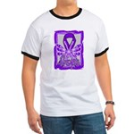 Hope Butterfly Pancreatic Cancer Ringer T