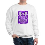 Hope Butterfly Pancreatic Cancer Sweatshirt