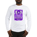 Hope Butterfly Pancreatic Cancer Long Sleeve T-Shi