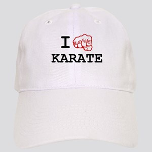 I love Karate Cap
