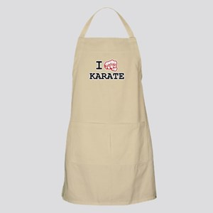 I love Karate Apron