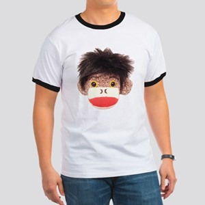 Sock Monkey Tommy Ringer T