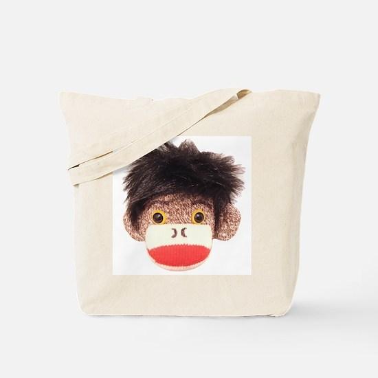 Sock Monkey Tommy Tote Bag