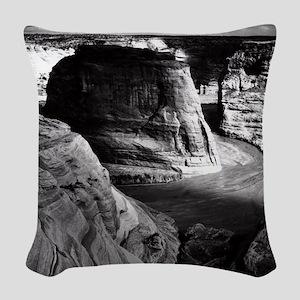 Ansel Adams Arizona Canyon Woven Throw Pillow