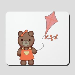 Teddy Flies a Kite Mousepad