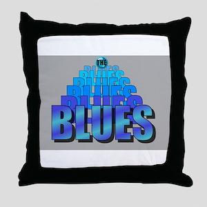 BLUES MUSIC BLUES Throw Pillow