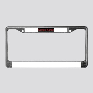 Kempo Karate  License Plate Frame