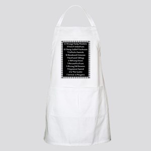 funeral proof 4 Apron