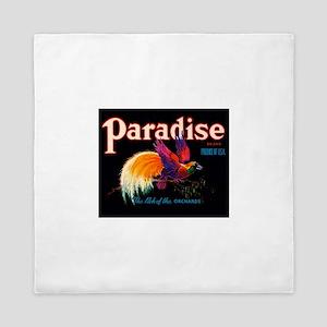 Antique 1930 Bird of Paradise Brand Fruit Label Qu