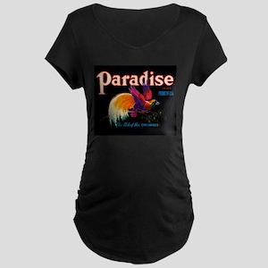 Antique 1930 Bird of Paradise Brand Fruit Label Ma