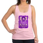 Hope Butterfly GIST Cancer Racerback Tank Top