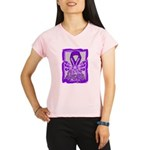 Hope Butterfly GIST Cancer Performance Dry T-Shirt