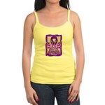 Hope Butterfly GIST Cancer Jr. Spaghetti Tank