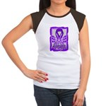 Hope Butterfly GIST Cancer Women's Cap Sleeve T-Sh