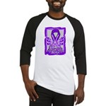Hope Butterfly GIST Cancer Baseball Jersey