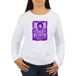 Hope Butterfly GIST Cancer Women's Long Sleeve T-S