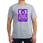 Hope Butterfly GIST Cancer Men's Fitted T-Shirt (d