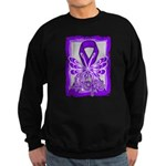 Hope Butterfly GIST Cancer Sweatshirt (dark)
