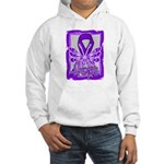Hope Butterfly GIST Cancer Hooded Sweatshirt