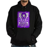 Hope Butterfly GIST Cancer Hoodie (dark)