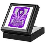 Hope Butterfly GIST Cancer Keepsake Box