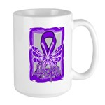 Hope Butterfly GIST Cancer Large Mug