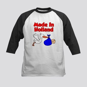 Made In Holland Boy Baseball Jersey