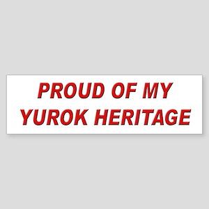 Yurok Heritage Pride Bumper Sticker