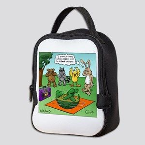 """Tortoise and the Hare Revisite Neoprene Lunch Bag"