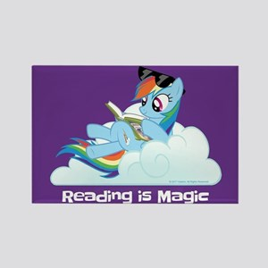 My Little Pony Reading is Magic Rectangle Magnet