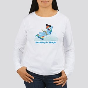 My Little Pony Reading Women's Long Sleeve T-Shirt