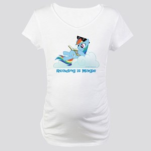 My Little Pony Reading is Magic Maternity T-Shirt