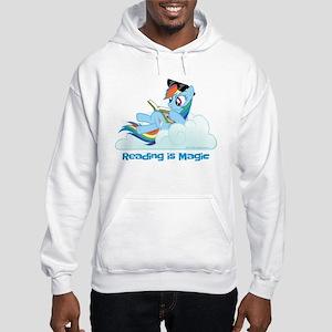 My Little Pony Reading is Magic Hooded Sweatshirt