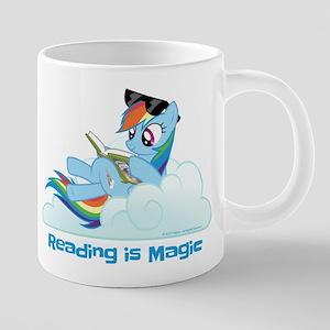 My Little Pony Reading is M 20 oz Ceramic Mega Mug