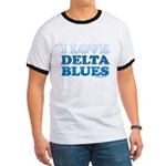 I Love Delta Blues Ringer T
