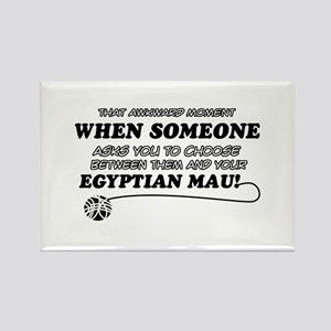 Egyptian Mau cat gifts Rectangle Magnet