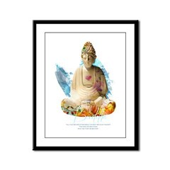 Buddha Framed Panel Print