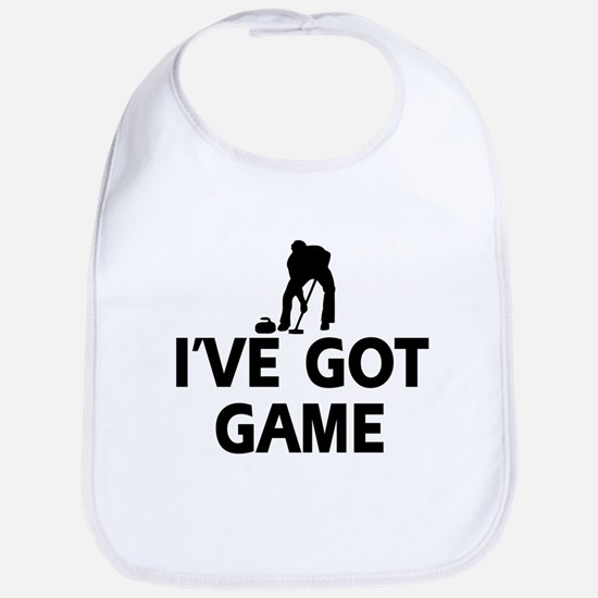 I've got game Curling designs Bib