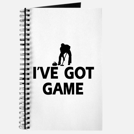 I've got game Curling designs Journal