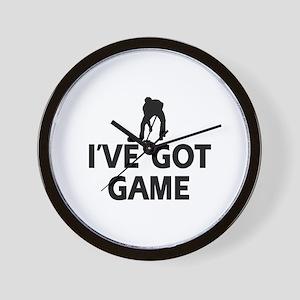 I've got game Curling designs Wall Clock