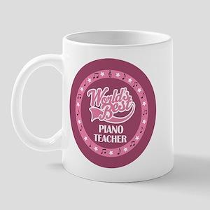 Worlds Best Piano Teacher Mug