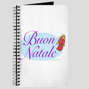 ITALIAN MERRY CHRISTMAS Journal