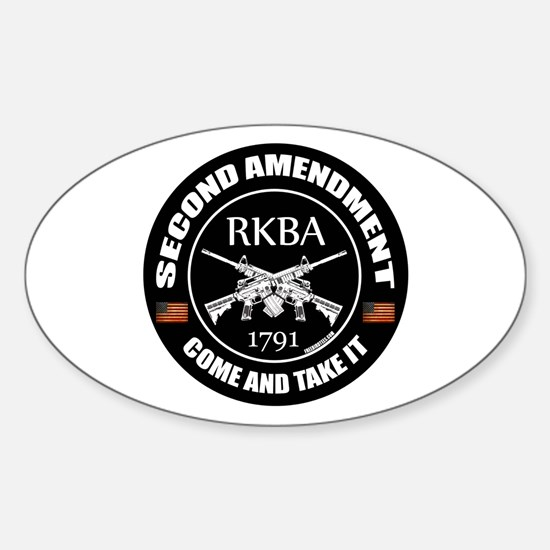 Second Amendment RKBA ARs Come and Take It Decal