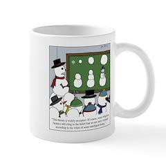 Snowman Evolution Mugs