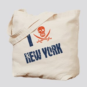 I Jolly Roger New York Tote Bag