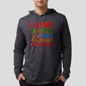 I LOVE SKEET SHOOTING SHIRTS Mens Hooded Shirt