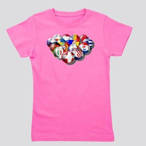 Europe Soccer Girl's Tee